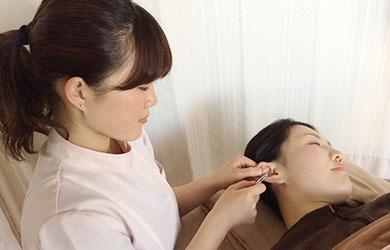 鍼灸耳つぼ施術