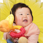 整体院内赤ちゃん画像
